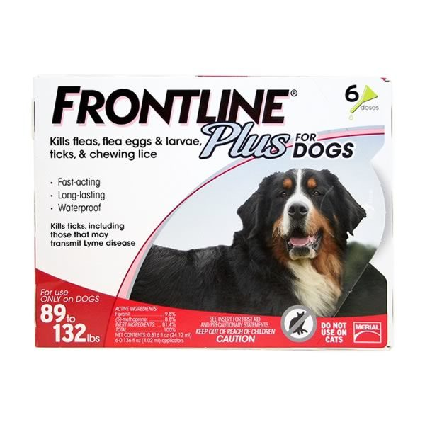 Frontline Flea And Tick Treatment